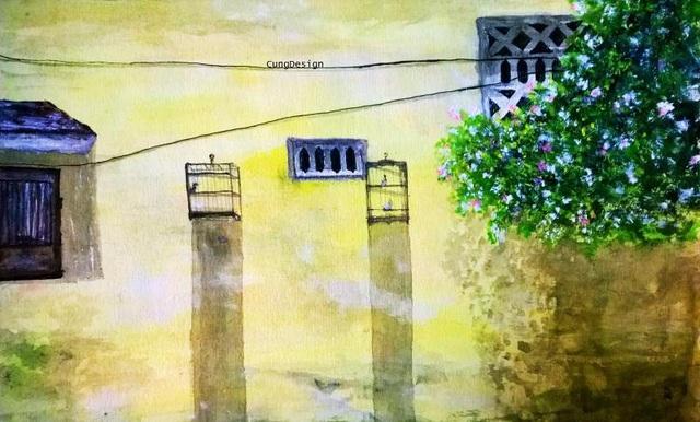 Cuộc sống tươi đẹp qua tranh vẽ của chàng bác sỹ 9x - 9