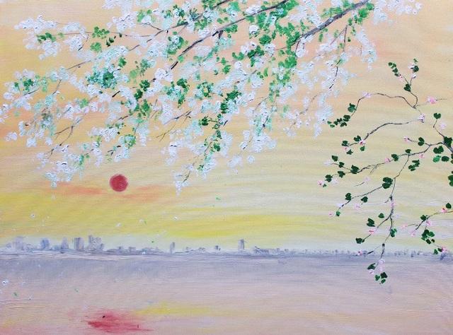 Bằng những bức tranh phong cảnh...Hội họa giúp cho tâm hồn con người phong phú hơn, tích cực hơn và đa chiều hơn.