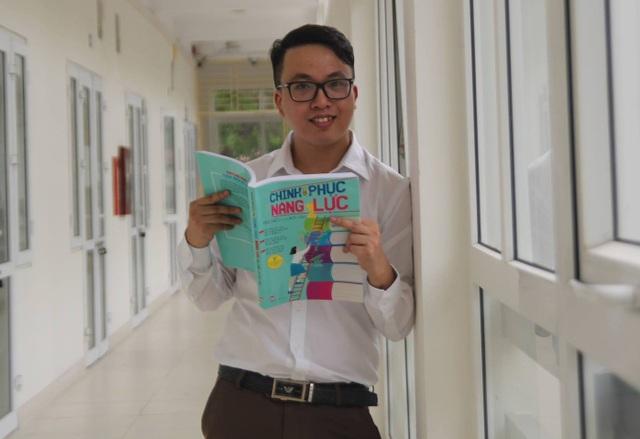 Thầy Trịnh Quỳnh (giáo viên Ngữ Văn Trường THPT Lương Thế Vinh, Nam Định) - tác giả bài viết.