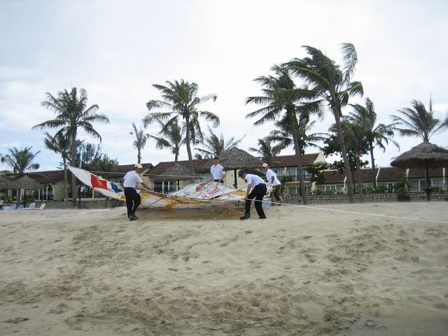 Hoạt động vui chơi, giải trí ở bãi biển An Bàng