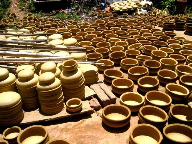 Những sản phẩm của làng gốm Thanh Hà