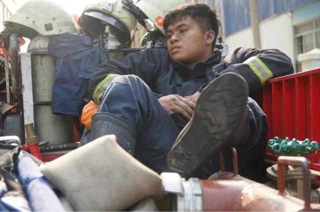 Người chiến sĩ PCCC được chị Diếp Hồng Phấn nhắc tới trong bài viết