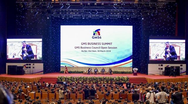 Diễn đàn Thượng đỉnh kinh doanh GMS tại Hà Nội