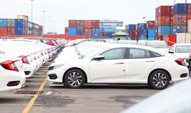 Ảnh: Gần 1.000 chiếc xe Honda với mức thuế 0% cập cảng Cảng Đình Vũ đầu tháng 3/2018.