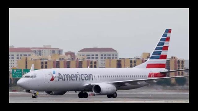 Một máy bay của hãng hàng không American Airlines. Ảnh: YouTube