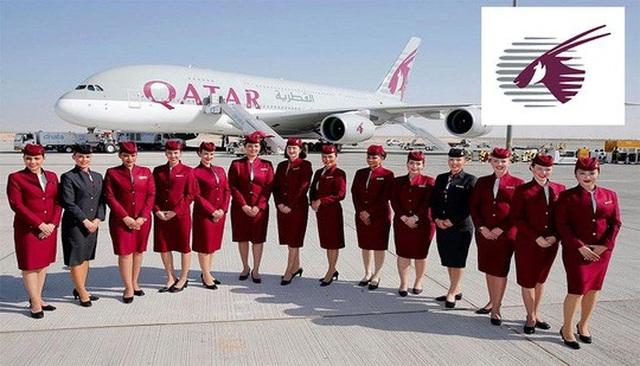 Một máy bay của hãng hàng không Qatar Airways. Ảnh: Opção Turismo