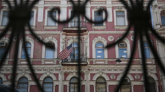 Nga yêu cầu đóng cửa lãnh sự quán Mỹ ở St.Petersburg trước ngày 31/3. (Ảnh: Reuters)