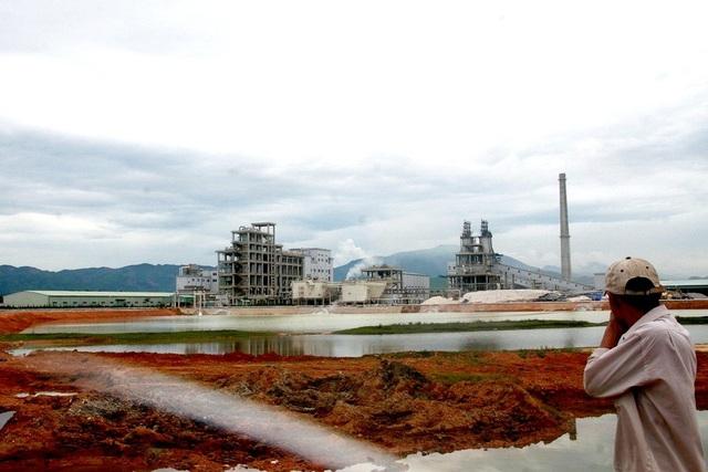 Nhà máy sản xuất Sô đa Chu Lai ô nhiễm môi trường ngay từ khi mới đi vào hoạt động