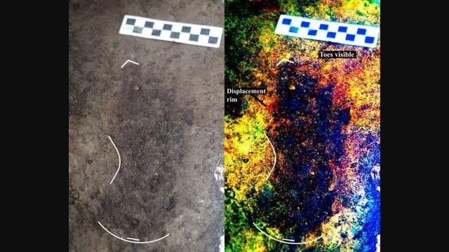 Phát hiện dấu chân người cổ đại 13.000 năm tuổi trên bờ biển Canada - 1