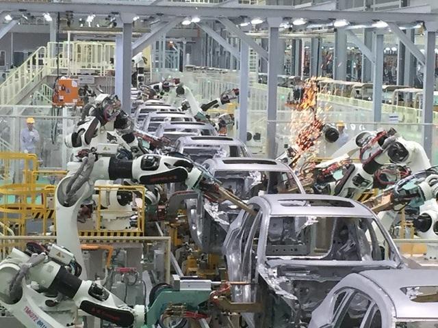 Các DN ô tô quyết tâm đầu tư lớn để cạnh tranh quốc tế