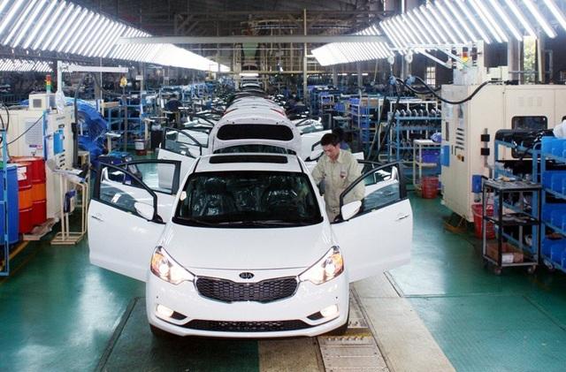 Ô tô Việt Nam với tham vọng xuất khẩu sang các nước (ảnh minh họa)