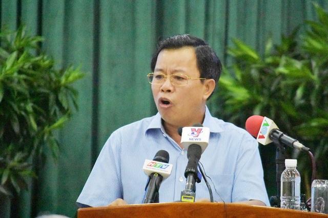 Phó Giám đốc Công an TPHCM Trần Đức Tài