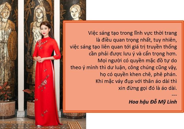 Xem thêm: Vì sao chọn Hoa hậu Đỗ Mỹ Linh đại diện hình ảnh cho Lễ hội áo dài TPHCM?
