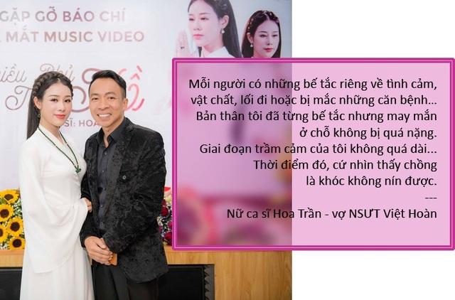 Xem thêm: NSƯT Việt Hoàn thú nhận nhiều khi phải làm vợ để vợ làm chồng