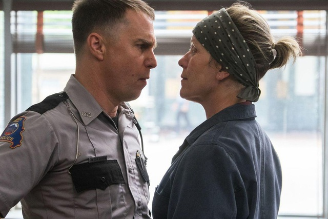 Sam Rockwell trong phim Three Billboards Outside Ebbing, Missouri