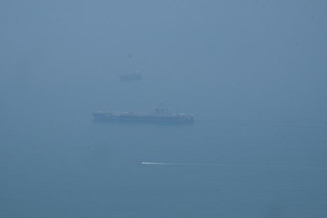 Tàu sân bay Mỹ đã vào vịnh Đà Nẵng - 3