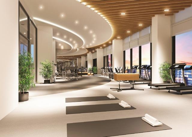 Tiện ích trong tòa nhà M7A bao gồm: phòng chơi cho trẻ, phòng đa năng, phòng yoga, BBQ, phòng Gym, phòng massage, sauna…
