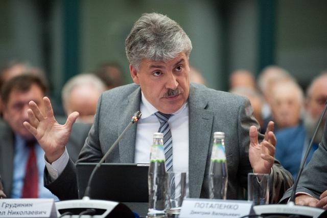 Ông Pavel Grudinin (Ảnh: Moscow Times)