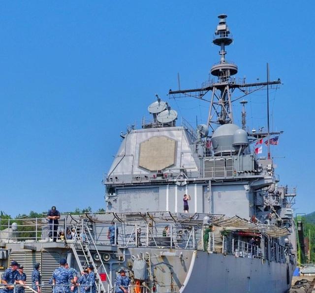 Hình ảnh nơi neo đậu của tàu Hải quân Mỹ tại cảng Tiên Sa - 5