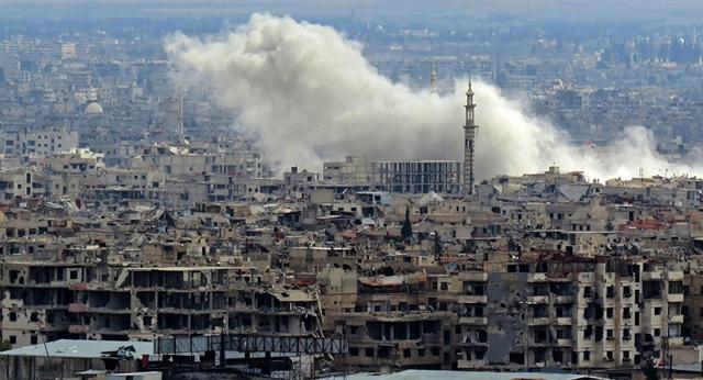 Khu vực đông Ghouta (Ảnh: AFP)