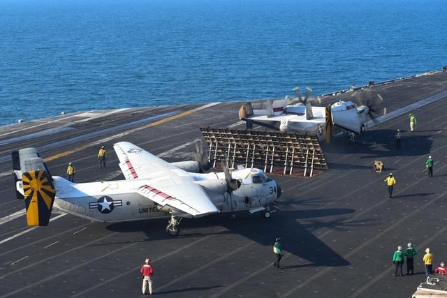 C-2A Greyhound được nâng cấp hệ thống liên lạc, định vị và hướng dẫn giúp giảm chi phí hậu cần cho tàu sân bay.