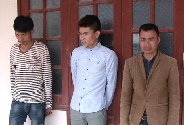 Ba đối tượng chặn đường, vu vạ để cướp tài sản người dân bị Công an huyện Gia Viễn bắt giữ.