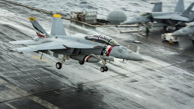 F/A - 18 Super Hornet được biên chế vào Hải quân Mỹ từ năm 1999 và được coi là xương sống của lực lượng này.
