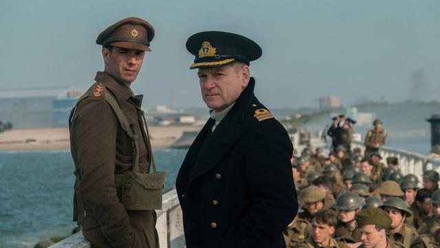 """Bộ phim """"Dunkirk"""" đã giành giải Biên tập phim hay nhất, Biên tập âm thanh hay nhất và Mixing âm thanh hay nhất tại Oscar 2018."""