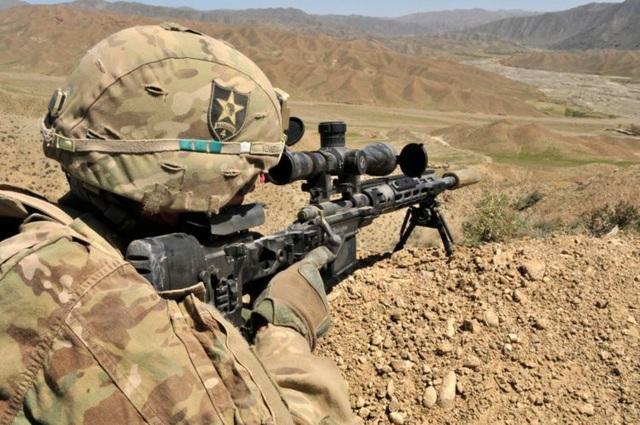 Súng bắn tỉa cải tiến M2010 dùng đạn cỡ 7.62x67mm với tầm bắn hơn 1.200 m (Ảnh: US Army)