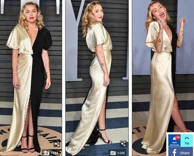 Miley Cyrus kín đáo bất ngờ