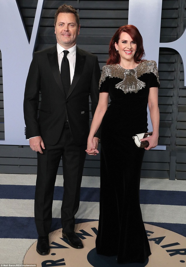 Nick Offerman và Megan Mullally