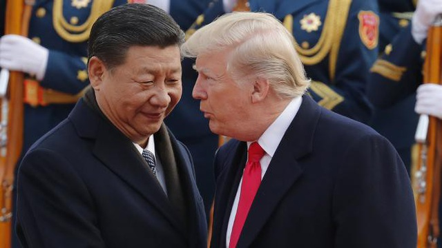 Chủ tịch Trung Quốc Tập Cận Bình (trái) và Tổng thống Mỹ Donald Trump (Ảnh: AP)