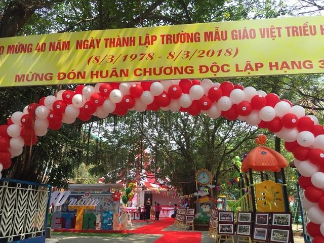 Trường mẫu giáo Việt Triều đón nhận Huân chương Độc lập hạng Ba - 3