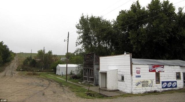 Thị trấn hiện chỉ có 1 cư dân duy nhất sinh sống