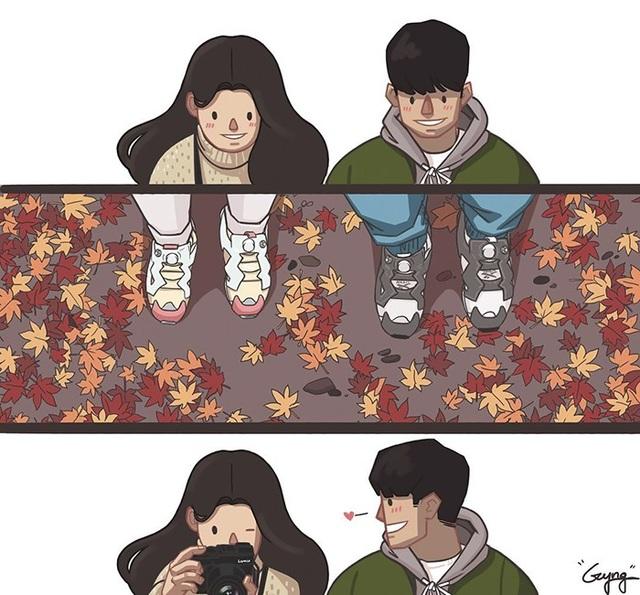 Yêu là cùng nhau đi suốt con đường.
