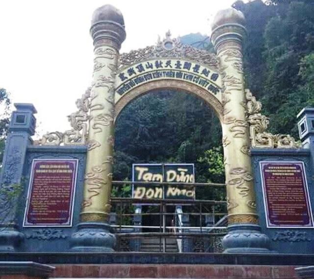 Công ty CP Du lịch Tràng An thông báo tạm dừng đón khách lên đỉnh núi Huyền Vũ ngày 6/3.