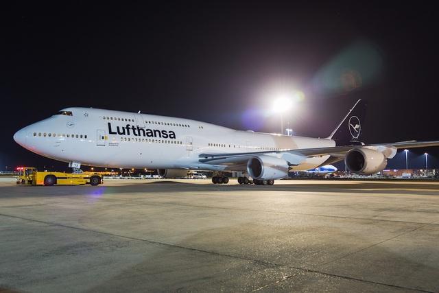 Một máy bay của hãng hàng không Lufthansa, Đức (Ảnh minh họa: Wikipedia)
