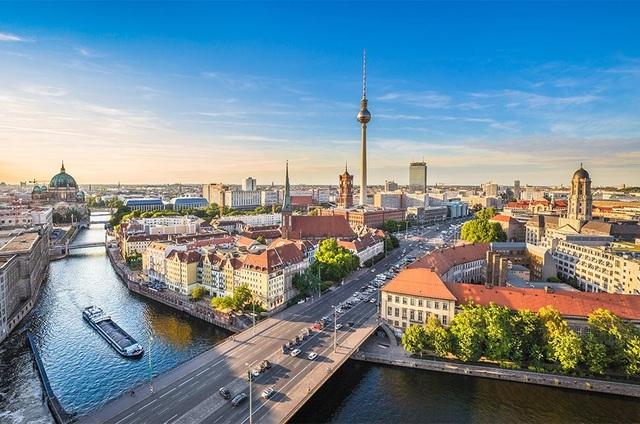 Quang cảnh tuyệt đẹp ở Berlin