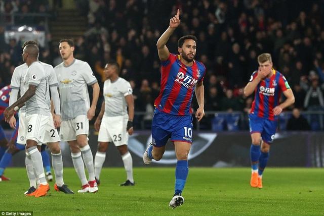 Townsend ghi bàn thắng mở tỉ số cho đội chủ nhà