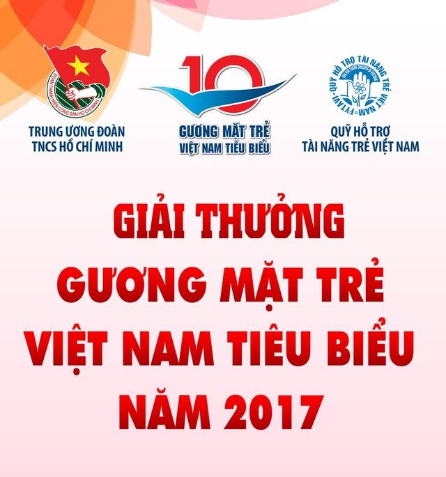 14h30 chiều nay, giao lưu 3 đề cử Gương mặt trẻ Việt Nam tiêu biểu 2017 - 1
