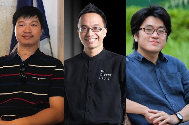 3 đề cử Gương mặt trẻ Việt Nam tiêu biểu 2017 là TS Lê Hoàng Sơn, Nguyễn Hải Ninh và thạc sĩ Lưu Đức Anh sẽ tham gia giao lưu với độc giả báo Dân trí.