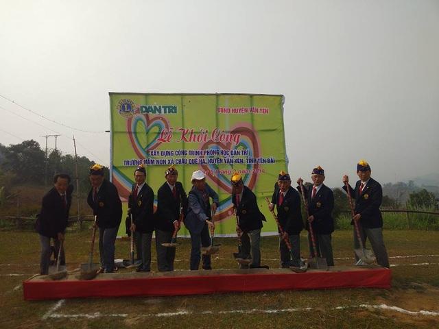 Lần đầu tiên tại Việt Nam, nhân dịp kỷ niệm 55 thành lập, tổ chức Nagoya Taiko Lions Club thực hiện hoạt động hỗ trợ xây dựng trường học đầy ý nghĩa
