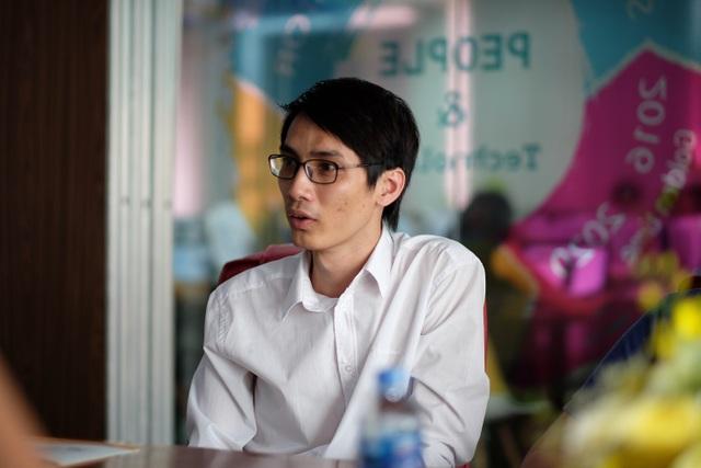 Ông Hán Văn Lợi, Tổng Giám đốc của BoxMe và Shipchung