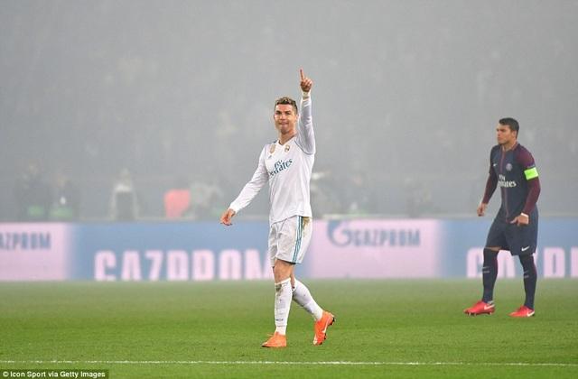 C.Ronaldo và đồng đội thắng PSG chung cuộc 5-2, ghi tên mình vào tứ kết Champions League