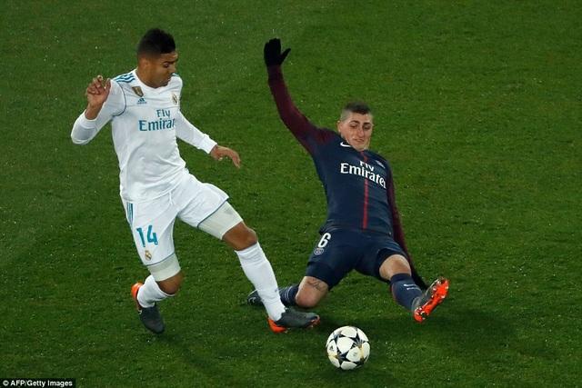 Casemiro là người ấn định chiến thắng 2-1 cho Real Madrid ở phút 80