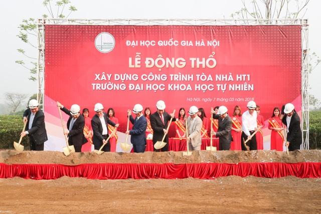 Lễ động thổ xây dựng trường ĐH Khoa học tự nhiên - ĐH QGHN