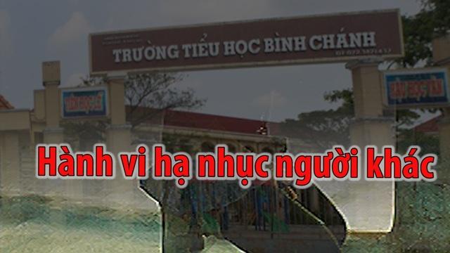 Theo luật sư Nguyễn Thuận, hành vi phụ huynh bắt cô giáo quỳ mang tính chất trả thù, hạ nhục người khác