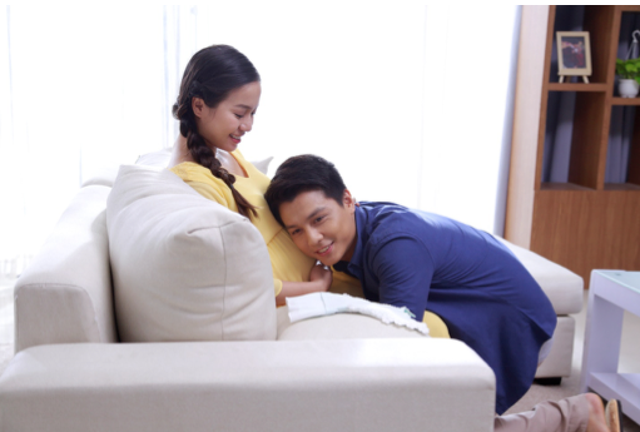 """Món quà """"siêu tâm lý"""" khiến vợ bầu hạnh phúc nghẹn ngào ngày 8/3 - 2"""