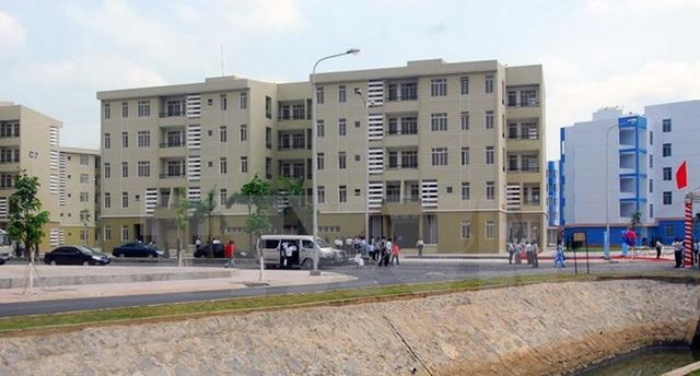 Khu tái định cư Vĩnh Lộc B, huyện Bình Chánh.