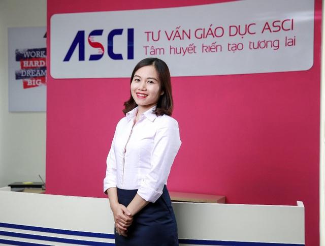 Chị Trần Thu - Chuyên gia tư vấn giáo dục quốc tế với nhiều năm kinh nghiệm